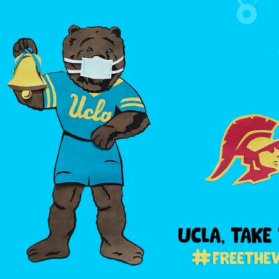 UCLA vs USC Mascot Stop Motion Animation