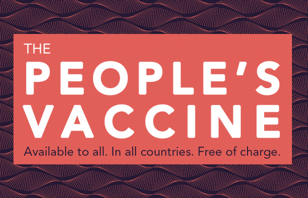 The People's Vaccine Logo